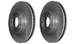 Volvo 960 S90, V90 (95-) (with 5 stud hub) Front Brake Discs (Pair)